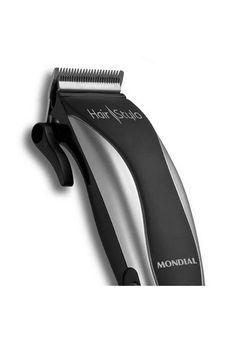 2457ee827 Máquina De Cortar Cabelo Mondial Hair Stylo Prata