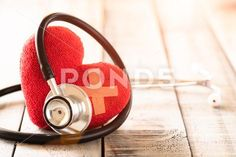 World health day, Healthcare and medical concept. Red heart with Stethoscope Stock Image World Health Day, Stethoscope, Card Templates, Textured Background, Digital Camera, Health Care, Medical, Concept