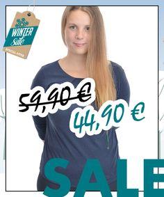 Basic-Shirt aus Bio-Baumwolle von Lanius im WSV bei Kult-Design-Unikate