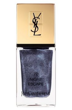 Yves Saint Laurent Nail Lacquer in Night Escape, new for summer 2016 Savage Summer collection