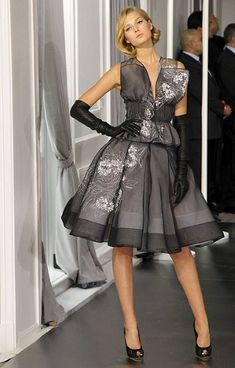 a true classic already!  Paris Haute Couture: Christian Dior spring/summer 2012
