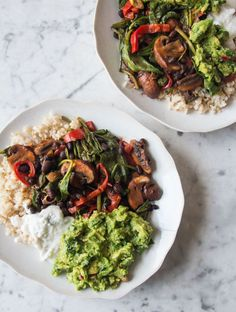 Fajita Bowls by Deliciously Ella / I have to try this!