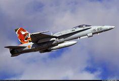 Spanish Air Force (SPAF) (Ejército del Aire)  McDonnell Douglas EF-18A(M) Hornet