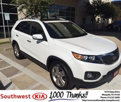 https://flic.kr/p/NtriPj | #HappyAnniversary to Mike &Somdra and your 2013 #Kia #Sorento from Harold Bennett at Southwest Kia Mesquite! | www.deliverymaxx.com/DealerReviews.aspx?DealerCode=VNDX