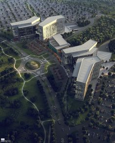 Cerner Innovations Campus on Behance