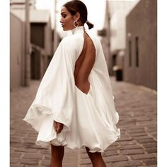 Dinner Party Outfits, Party Dress, White Outfit Party, Classy Outfits, Chic Outfits, Trendy Outfits, Elegantes Outfit Frau, Vestidos Zara, Vetement Fashion
