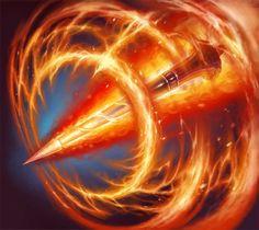 Flame Lance - Card - Hearthstone