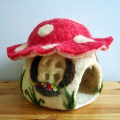 Felted Toadstool House - Song & Season