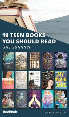 This is a list of books teens and young adults should read this summer! These are the best novels that will make you think and will entice you. #bookrecs #reading #yabooks