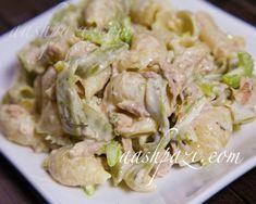 #Healthy, #delicious, low in calories #LowCalories and loaded with #antioxidants is this #tuna #tarragon #salad #TunaSalad #PastaSalad #SaladRecipe …http://www.aashpazi.com/tuna-tarragon-salad