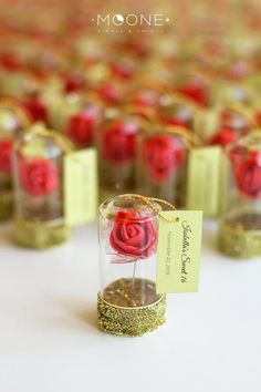 Red Rose Dome Favors Wedding Favors Beauty and the Sunflower Wedding Favors, Sunflower Party, Beach Wedding Favors, Wedding Favors For Guests, Bridal Shower Favors, Weeding Favors, Wedding Reception, Rustic Wedding, Beauty And The Beast Wedding Theme