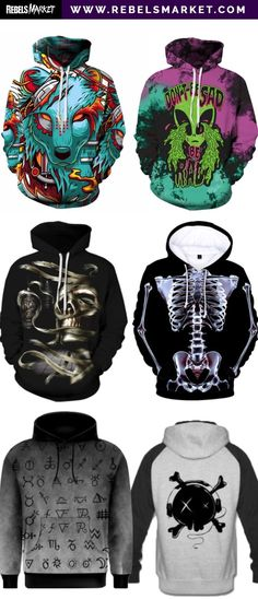 Emo Skeleton Torso Sweatshirt Goth All Sizes Punk Fancy Dress Rock/'n/'Roll
