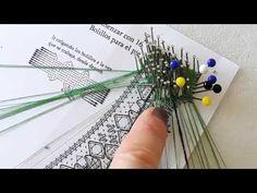 03 Abanico 47 mini Maxbolillos: 🙈 Reseguido, punto de filigrana y media onda - YouTube Bobby Pins, Hair Accessories, Youtube, Mini, Pink, Bobbin Lacemaking, Crocheting, Hand Fans, Waves