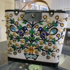 An Enid Collins bag like what my grandmother would have had.