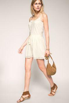 Esprit - Besticktes Kleid im Bohemian-Style im Online Shop kaufen