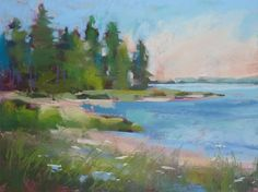 From Small to Large....Painting Big Pastels -- Karen Margulis