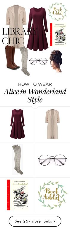 """""""Library Chic"""" by cam27 on Polyvore featuring Gerber and Abrams"""
