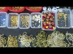 How To Make Silk Thread Jhumkas Hoop Style||Beautiful Pink jhumkas with Pearls - YouTube
