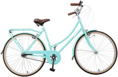 I'd love to own a bike again..Birdie in Sky Blue three-speed by Bobbin would be perfection.