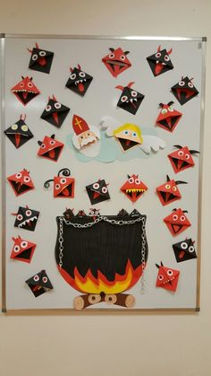 Diy For Kids, Crafts For Kids, Christmas Time, Xmas, Bricolage Halloween, Diy And Crafts, Arts And Crafts, School Decorations, Holidays And Events