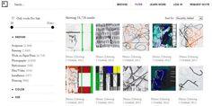 Ya podemos navegar por Art.sy, el sistema de recomendación de obras de arte