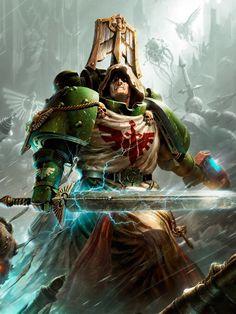 Warhammer 40000,warhammer40000, warhammer40k, warhammer 40k, ваха, сорокотысячник,фэндомы,Dark Angels,Space Marine,Adeptus Astartes,Imperium,Империум
