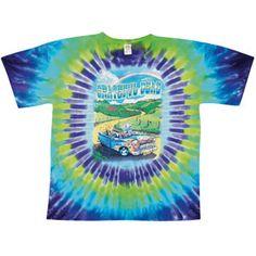 Grateful Dead Truckin' To Buffalo Tie Dye T-shirt