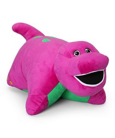 Take a look at this Barney Pillow Pet on zulily today!