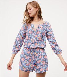 45dd5ba094 Wildflower Tassel Romper #SoftOceanBlue #Summer #Loft Beautiful Dresses For  Women, Loft Dress