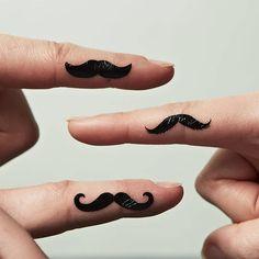 Moustache Tattoos - Sophia Victoria Joy