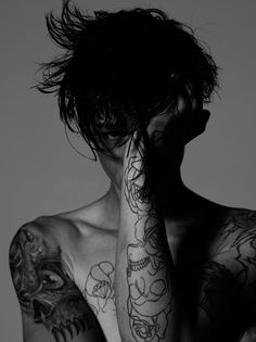 Ash Stymest photographed by Ben Cope for Fucking Young! Online