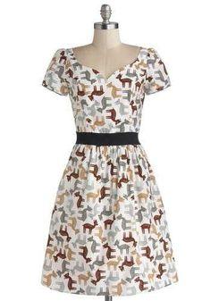 Cheeriest and Deerest Dress