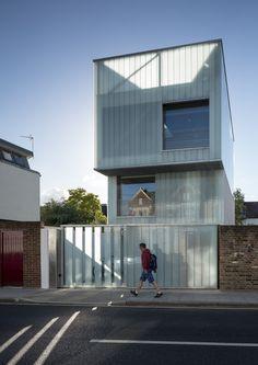 Gallery of Slip House / Carl Turner Architects - 30 woning rijwoning reglit stapeling compositie gevel dakterras gevel