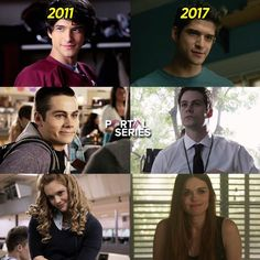 They didn't change much Stiles is still super cute and Scott is super cute and Lydia is stil sooo beautiful<<<<no the didn't change at ALL, you know they only changed from TINY BABIES to ADULTS! But your right, they didn't change at ALL Teen Wolf Memes, Teen Wolf Quotes, Teen Wolf Funny, Stiles Teen Wolf, Teen Wolf Dylan, Teen Wolf Cast, Lydia Martin, Dylan O'brien, Malia Tate