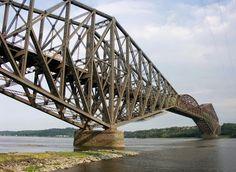 Gigantes do Mundo: A ponte cantilever com o maior vão livre do mundo