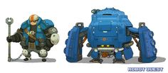 RobotQuest Mech3 comp by Nerd-Scribbles on deviantART