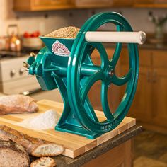 The Diamant is easily the finest mill we've tested. After analyzing dozens of mills, this one emerged head and shoulders above the rest. It is beautiful, high performing and, since it is made entirely of cast iron, it will far outlast lighter aluminum mills. Equally at home in the farmer's barn cracking bushels of corn for livestock or in the baker's kitchen milling fine flour for delicate pastries.