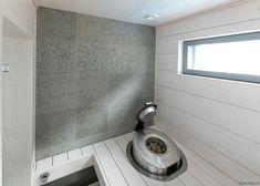 Asuntomessujen 2020 saunanostot ja saunatrendit – Saunologia.fi Tile Floor, Flooring, Mirror, Furniture, Home Decor, Tile Flooring, Hardwood Floor, Interior Design, Home Interior Design