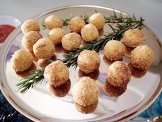 Get Stuffed Arancini Recipe from Food Network