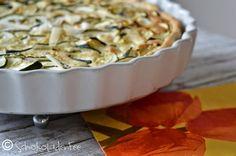 Zucchini-trifft-Cashew-Tarte
