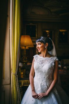 8d0f19b3b5 Pronovias Elegance for a Glamorous Multicultural Wedding at Syon Park in  London
