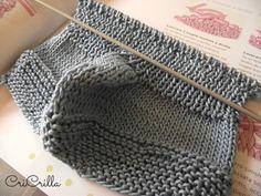 Ho sempre saputo che sarei riuscita ad imparare a lavorare a maglia se mi fosse stato concesso un po' di tempo e relax.. e quale peri...