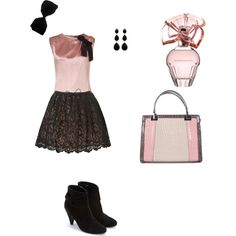 """""""poodle"""" created by #randomowl, #polyvore #fashion #style D&G #Monsoon #GUESS Amrita Singh Colette Malouf BCBG Max Azria"""