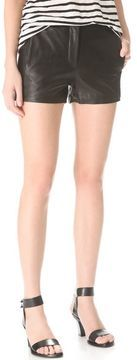 ShopStyle.com: T by alexander wang Lightweight Leather Shorts $475.00