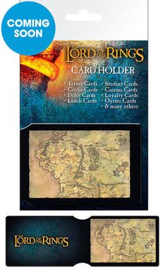 The Hobbit Collage Card Holder Lord Of The Rings Official Fan