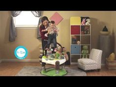 Check out the video for our new ExerSaucer- the ExerSaucer  Fast Fold + Go Treehouse Triple Fun!  Exclusively at Babies R Us!