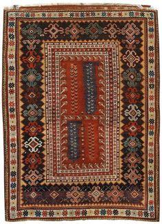 "Alberto Levi Gallery Melas Rug Western Anatolia Circa 1830 158 x 121 cm (5'2"" x 4')"