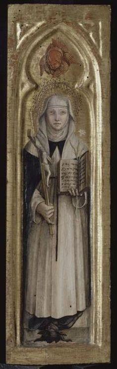 Sainte Catherine de Sienne // s. XV // Carlo Crivelli // Avignon, musée du Petit Palais