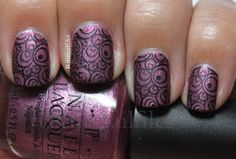 Rin's Nail Files: OPI We'll Always have Paris suede.......