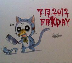 Twitter / hiro_mashima : 13日の金曜日が本気で怖かった小学生の頃。 http://t ...